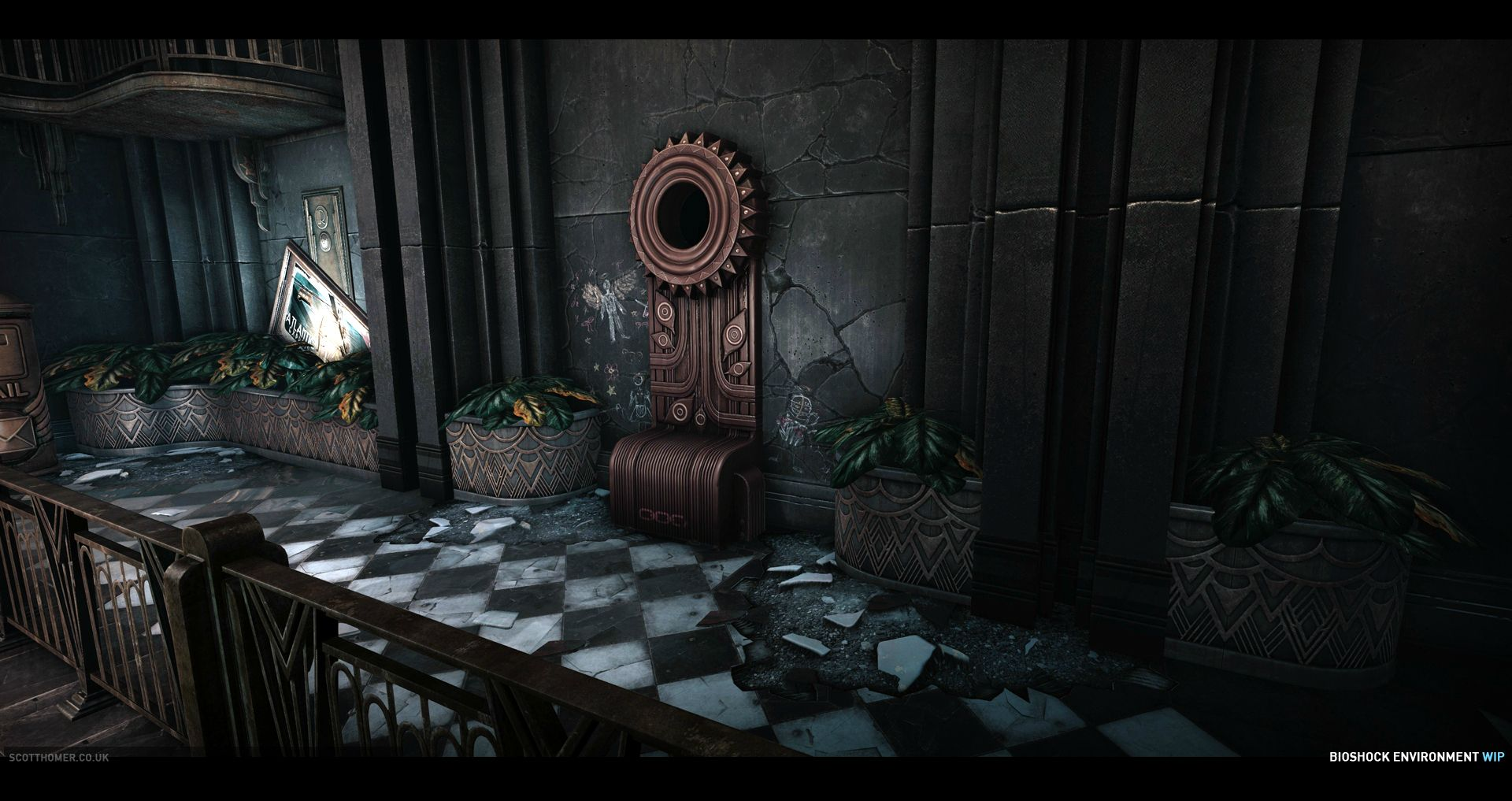 Best Ps Vita Games >> Bioshock environments recreated in CryEngine 3 by a Crytek ...
