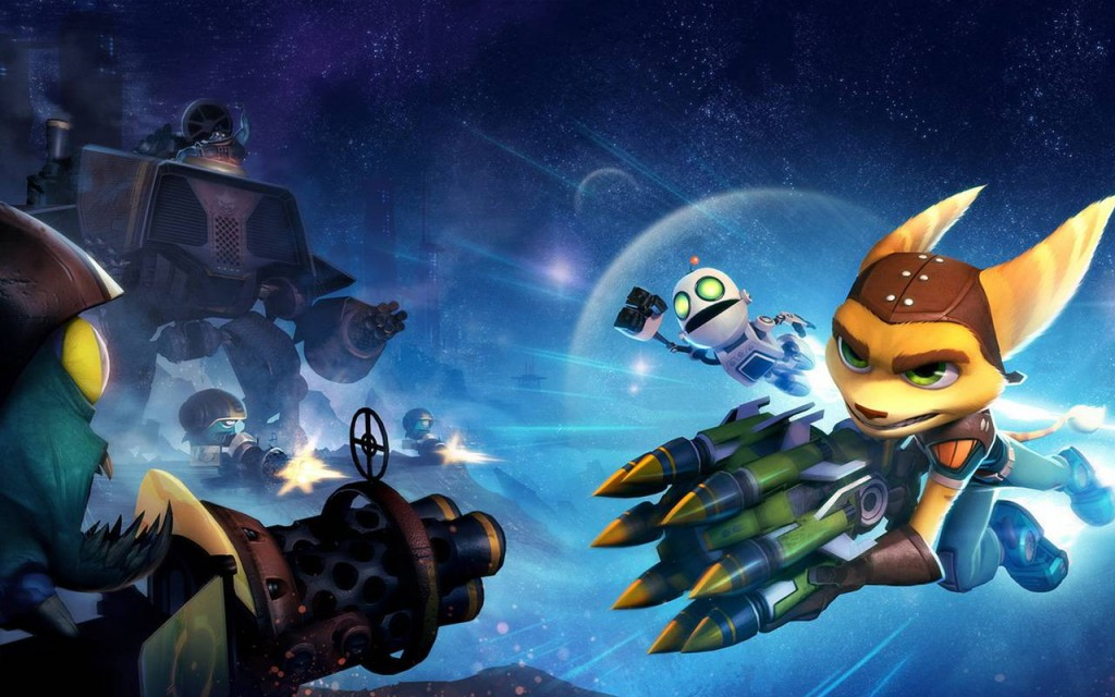 Ratchet And Clank Full Frontal Assault Q Force Wallpaper In Hd
