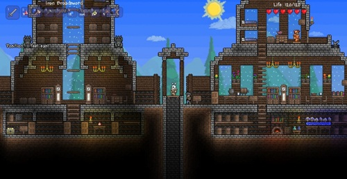 Campfire Gaming: Terraria, The Story of Red Cloud