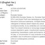 GTA 3 PSN release now fairly certain