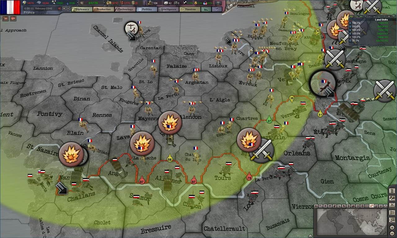 Hearts of Iron 3: Their Finest Hour Review « GamingBolt ...