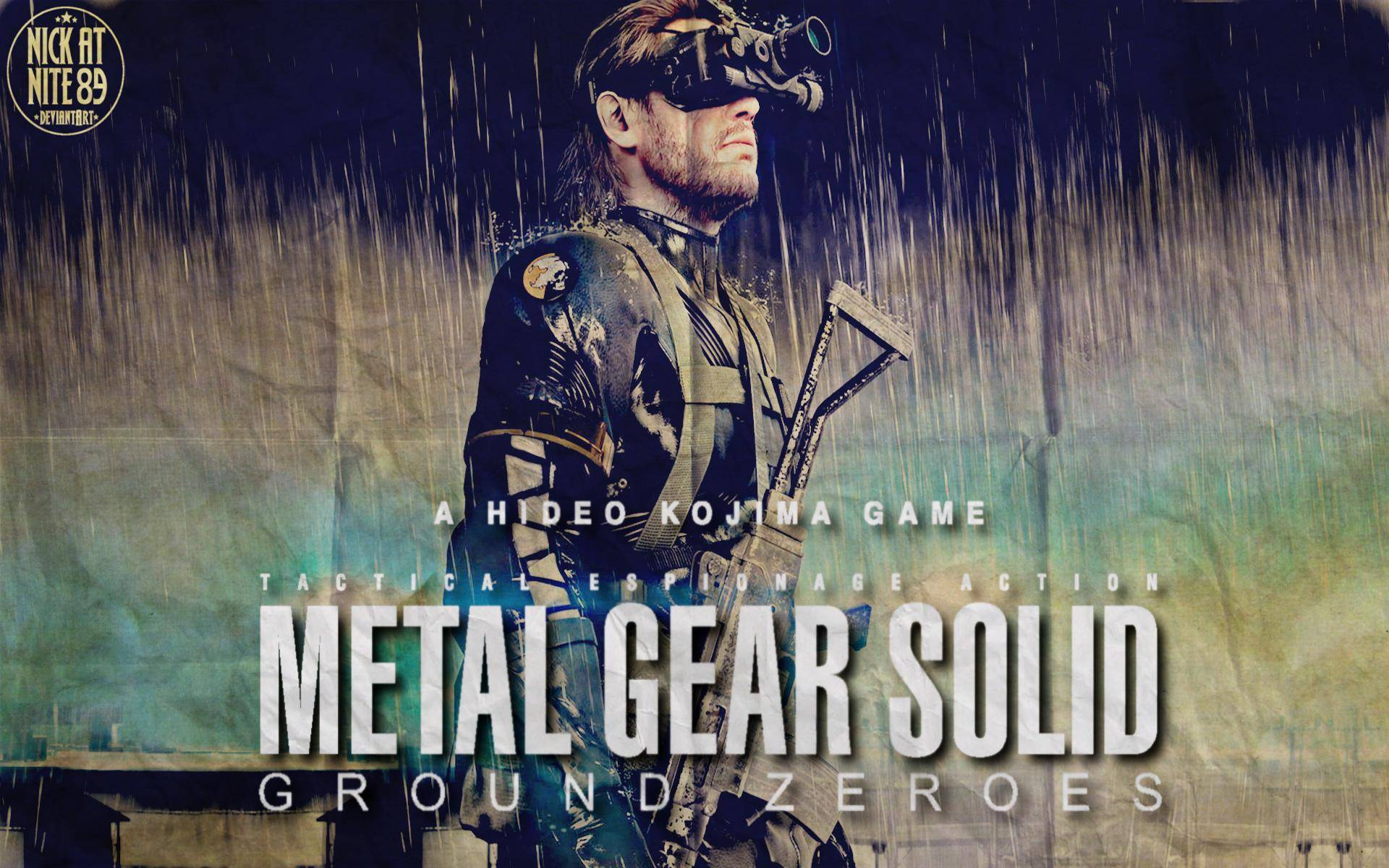 Metal Gear Solid Ground Zeroes is due for the PS3, Xbox 360 and PC. It