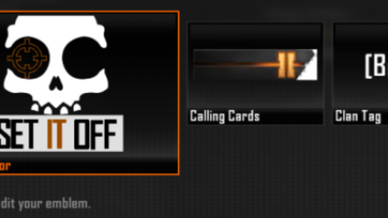 Call Of Duty Black Ops 2 Brand New Details On Emblem Editor