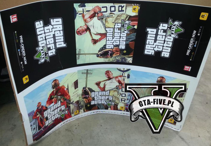 GTA 5 first retail artwork leak