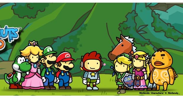 Scribble Drawing Xbox One : Scribblenauts unlimited wii u edition to feature mario and