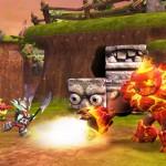 Skylanders Giants: Screenshots featuring Flashwing, Hot Head and Sprocket