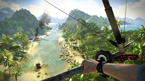 The Island Of Lost Recreated With Far Cry 3 Map Editor