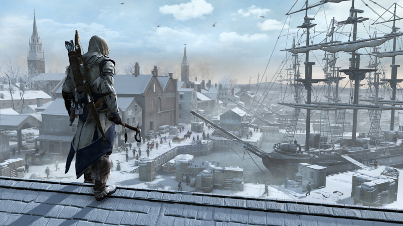 assassins creed 3 free run