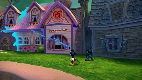 Disney's Epic Mickey Concept Art JLW