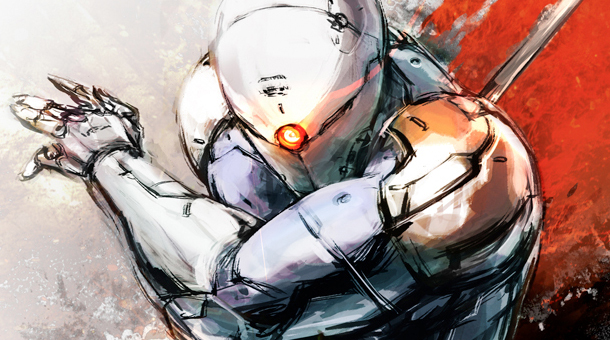metal gear rising_gray fox