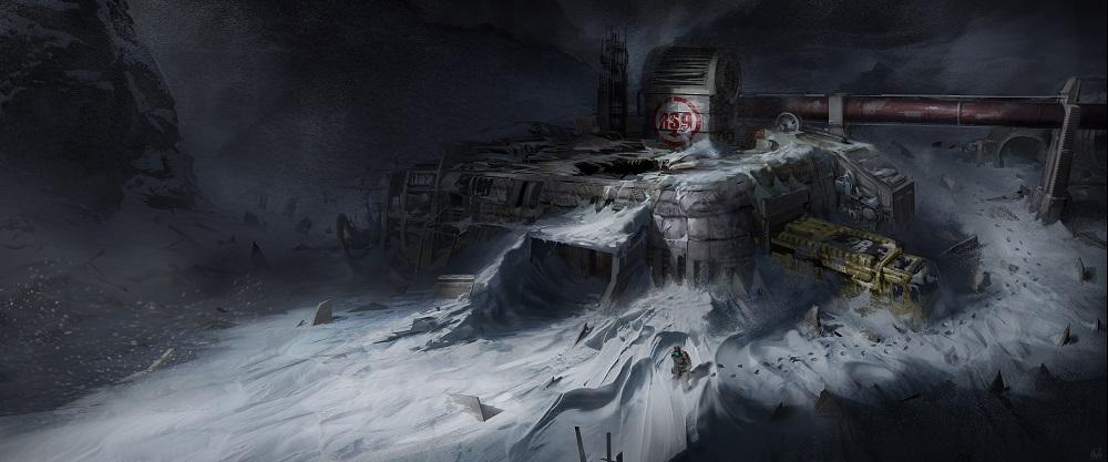 Dead Space 3 environments