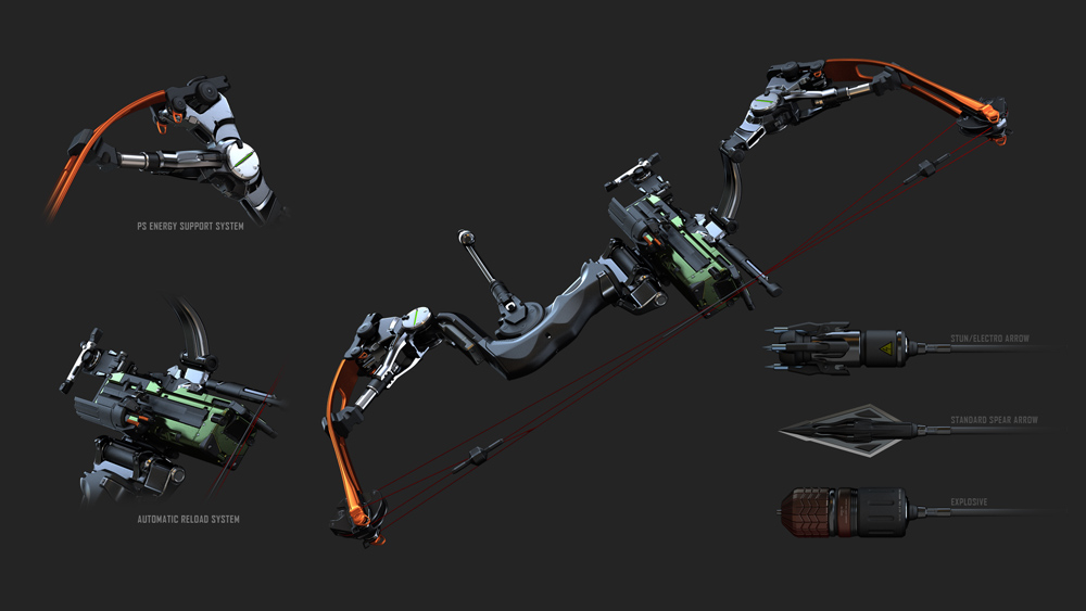 crysis 3 compound bow