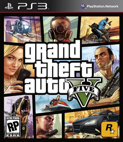 Grand Theft Auto 5 Box Art