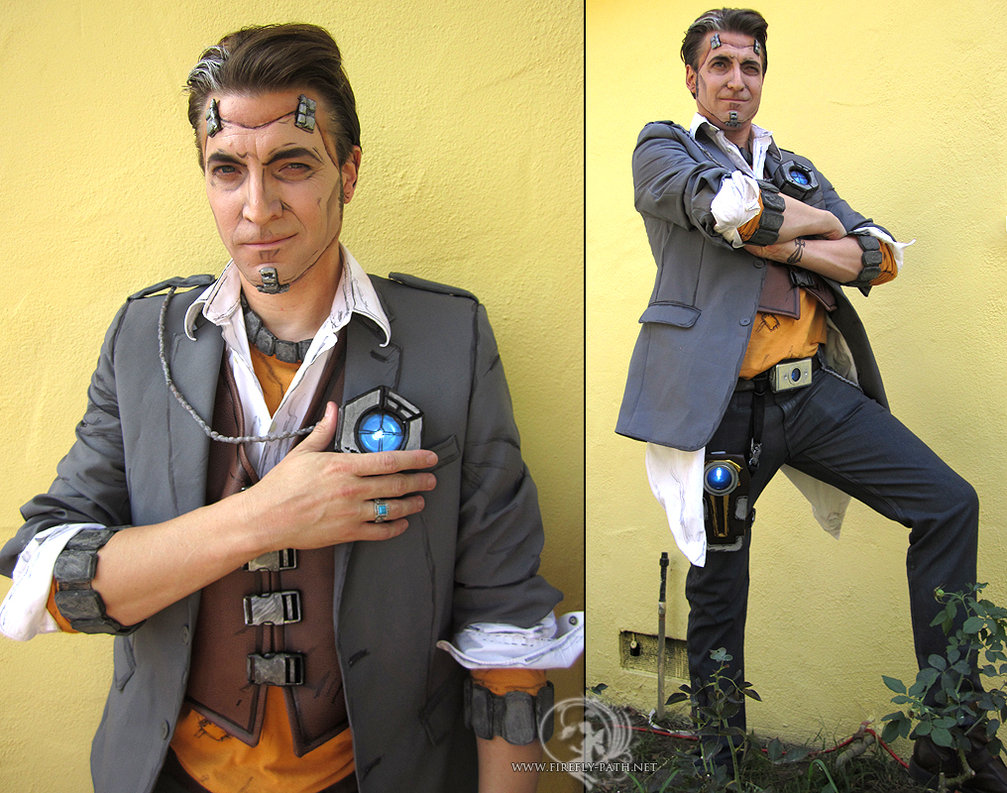 handsome jack cosplay