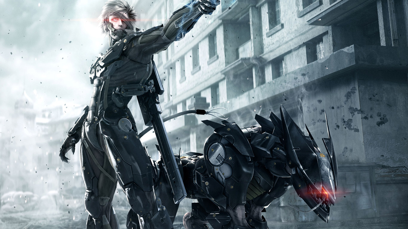metal gear rising revengeance dog