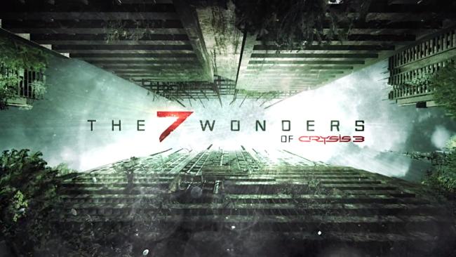 seven wonders of crysis 3