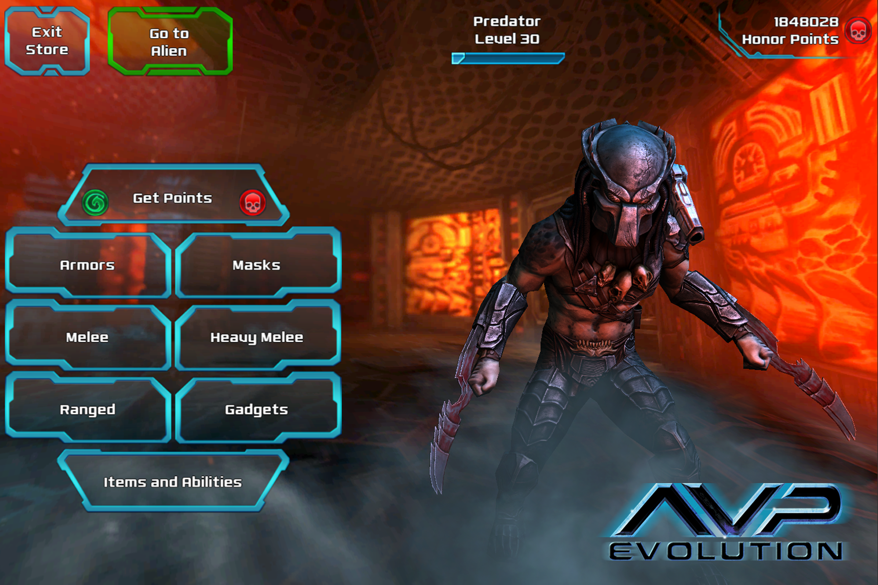 Aliens vs Predator Evolution на android скачать.