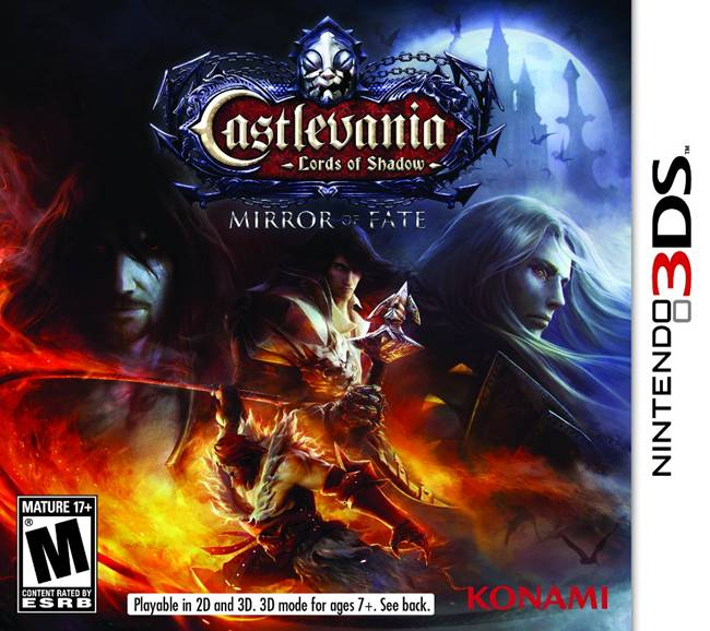 Castlevania: Lords of Shadow – Mirror of Fate Box Art