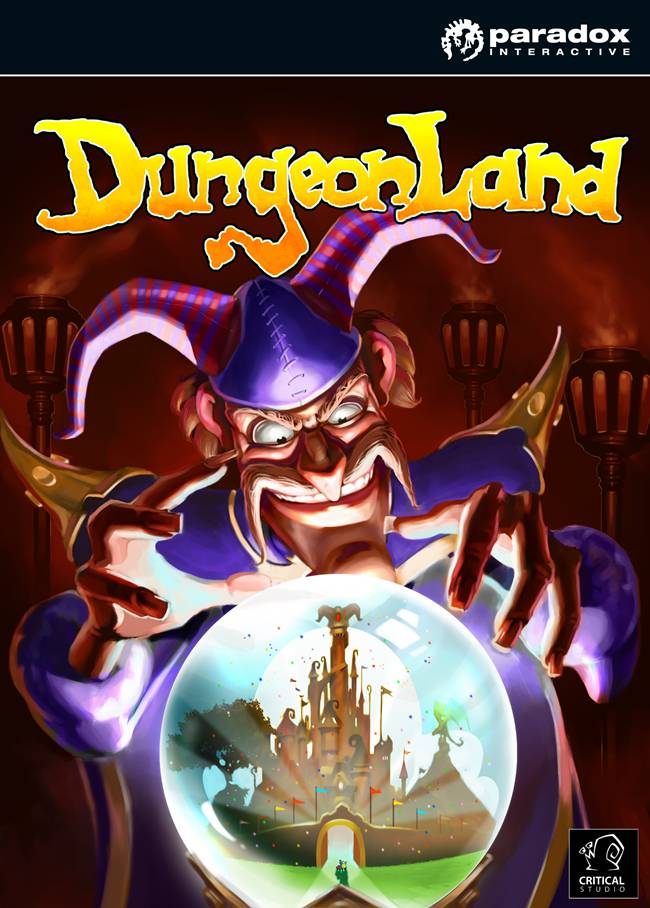 Dungeonland (video game) Box Art