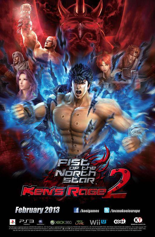 Fist of the North Star Ken's Rage 2 Box Art