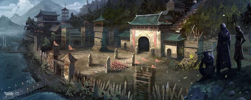 Kfwwq Assassin's Creed 4 را با تصاویر هنری جدید در چین ببینید