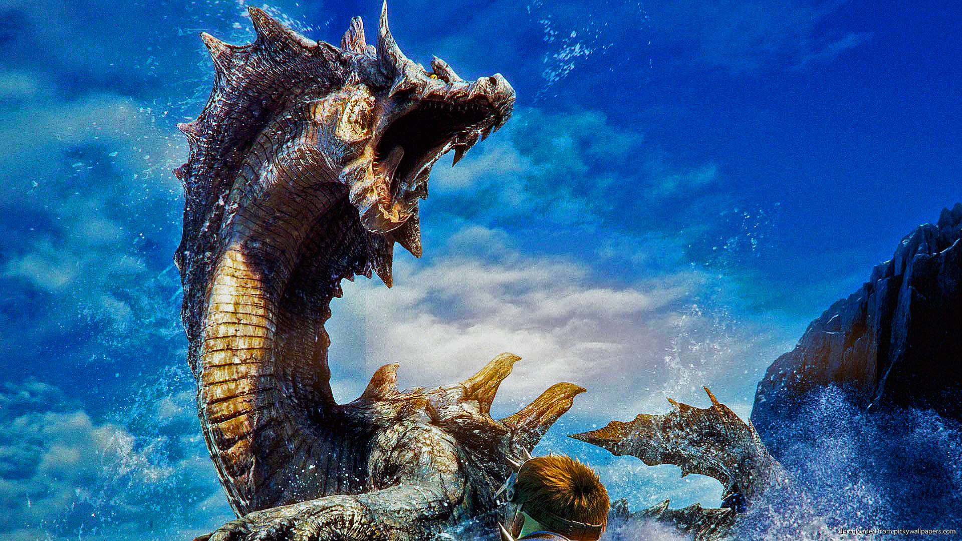 Monster Hunter 3 Ultimate Hd Wallpaper