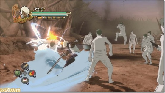 Naruto Shippuden Ultimate Ninja Storm 3_Crowd Battles