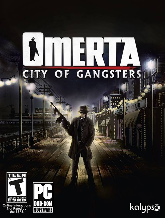 Omerta City of Gangsters Box Art