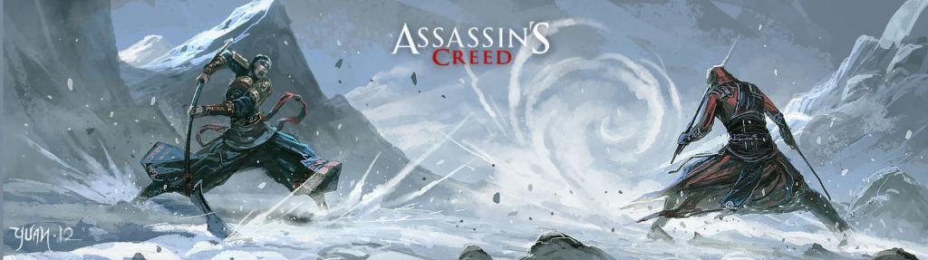 Oxn0t Assassin's Creed 4 را با تصاویر هنری جدید در چین ببینید