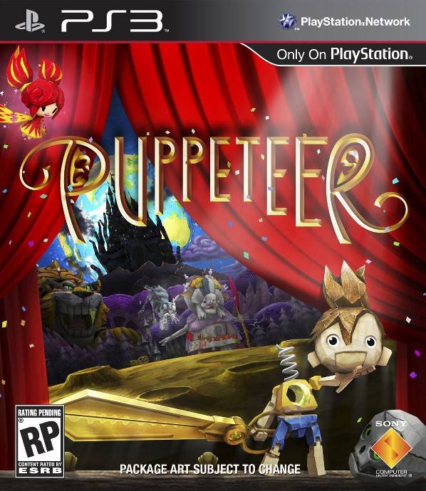Puppeteer (video game) Box Art