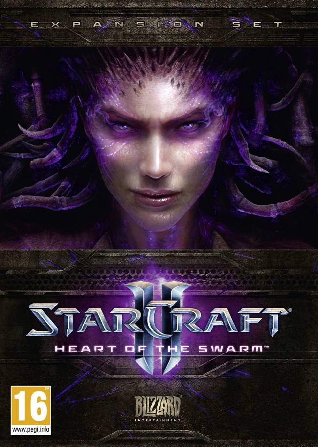 StarCraft 2: Heart of the Swarm Box Art