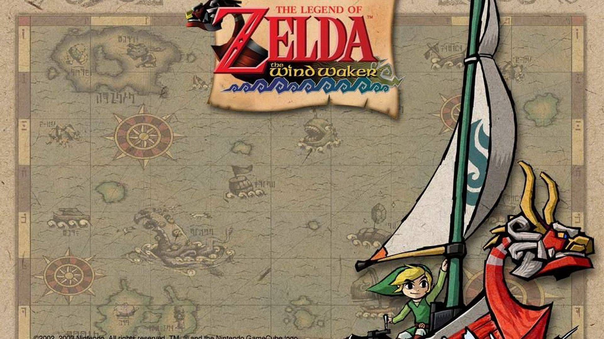 The Legend of Zelda Wind Waker HD Wii U Wallpapers