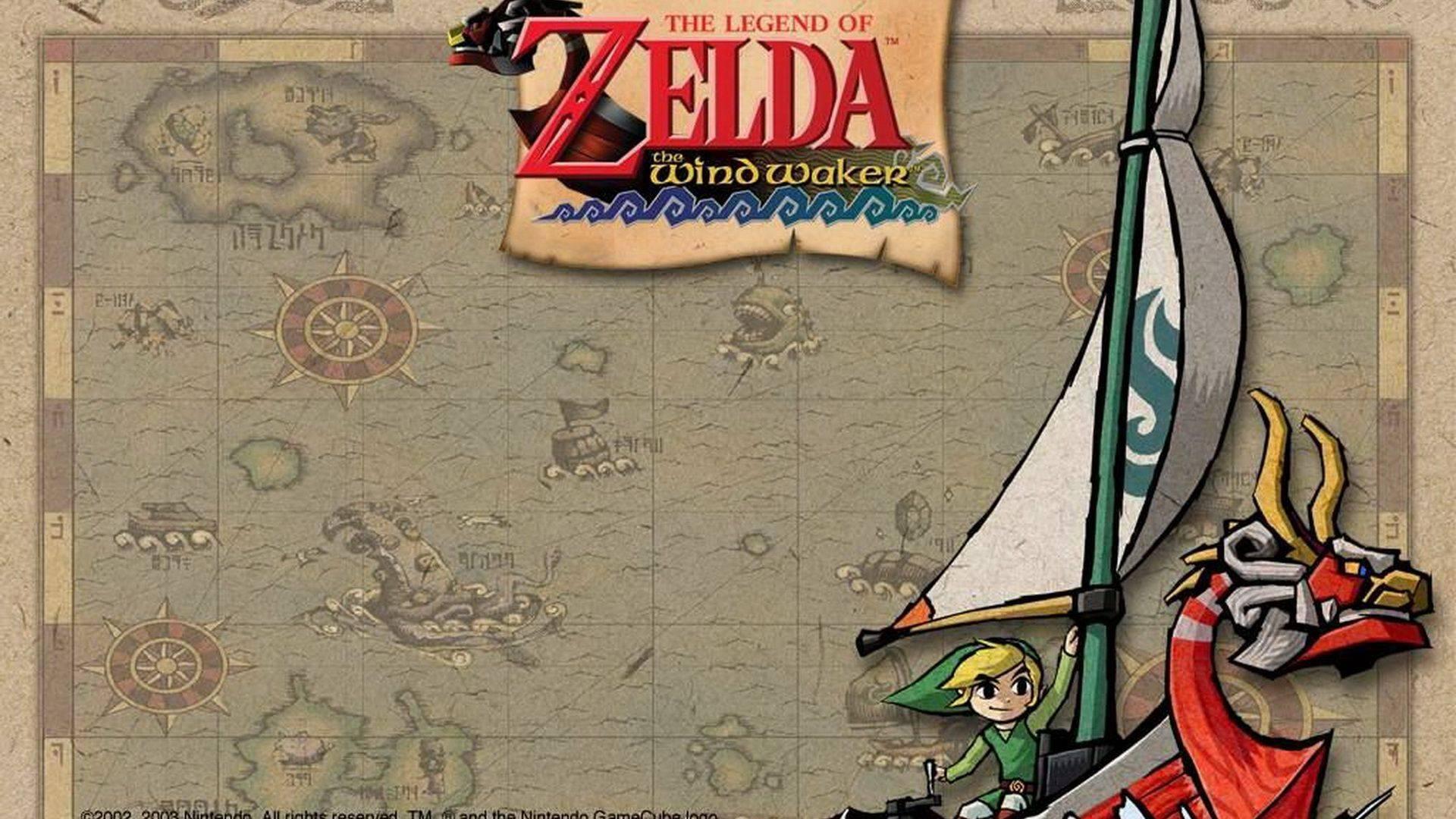 The Legend of Zelda Wind Waker HD Wii U Wallpapers
