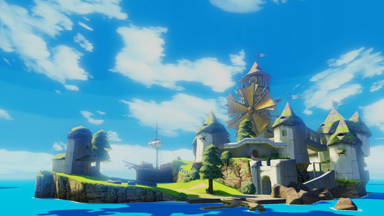 The Legend of Zelda_Wind Waker HD Comparison_1b