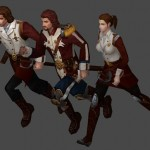City of Steam Art Dev Journal: The Guard's New Clothes