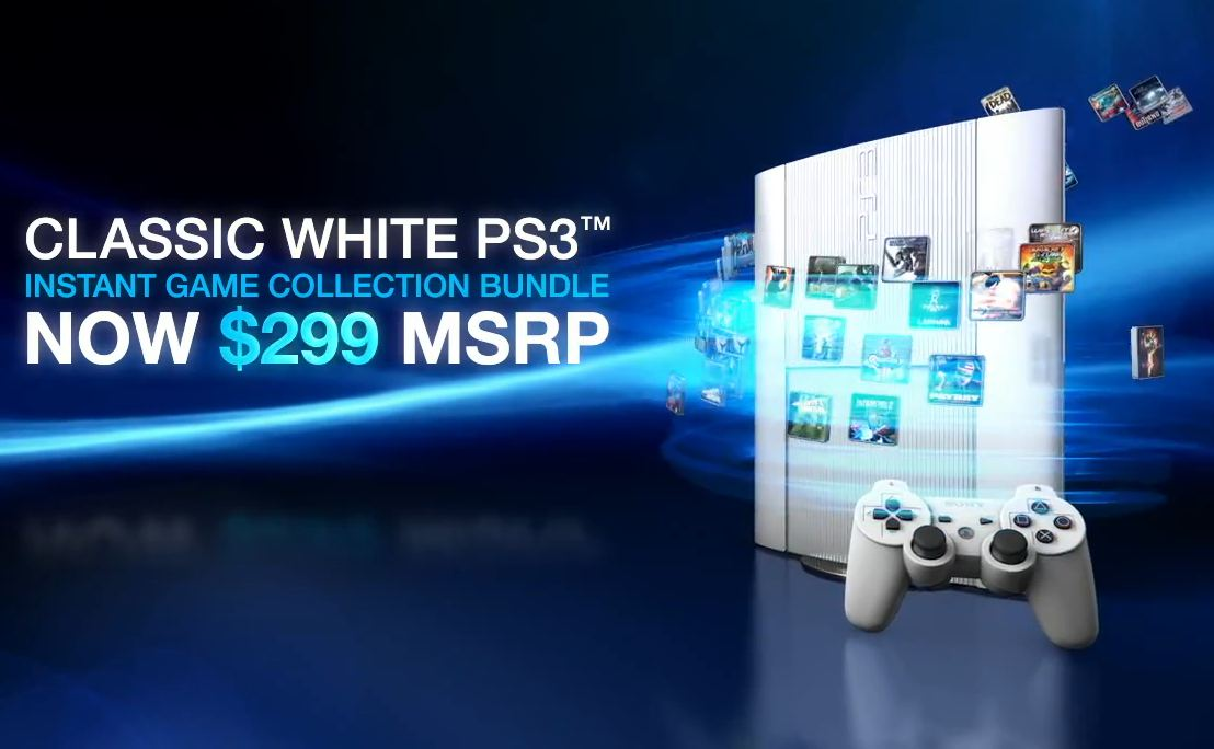 classic white ps3