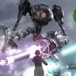 Earth Defence Forces 4 Gameplay Trailer – Steel Samurai, Ho!