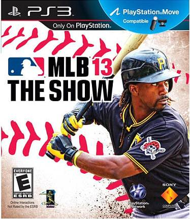 MLB 13: The Show Box Art