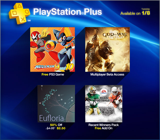 playstation plus january