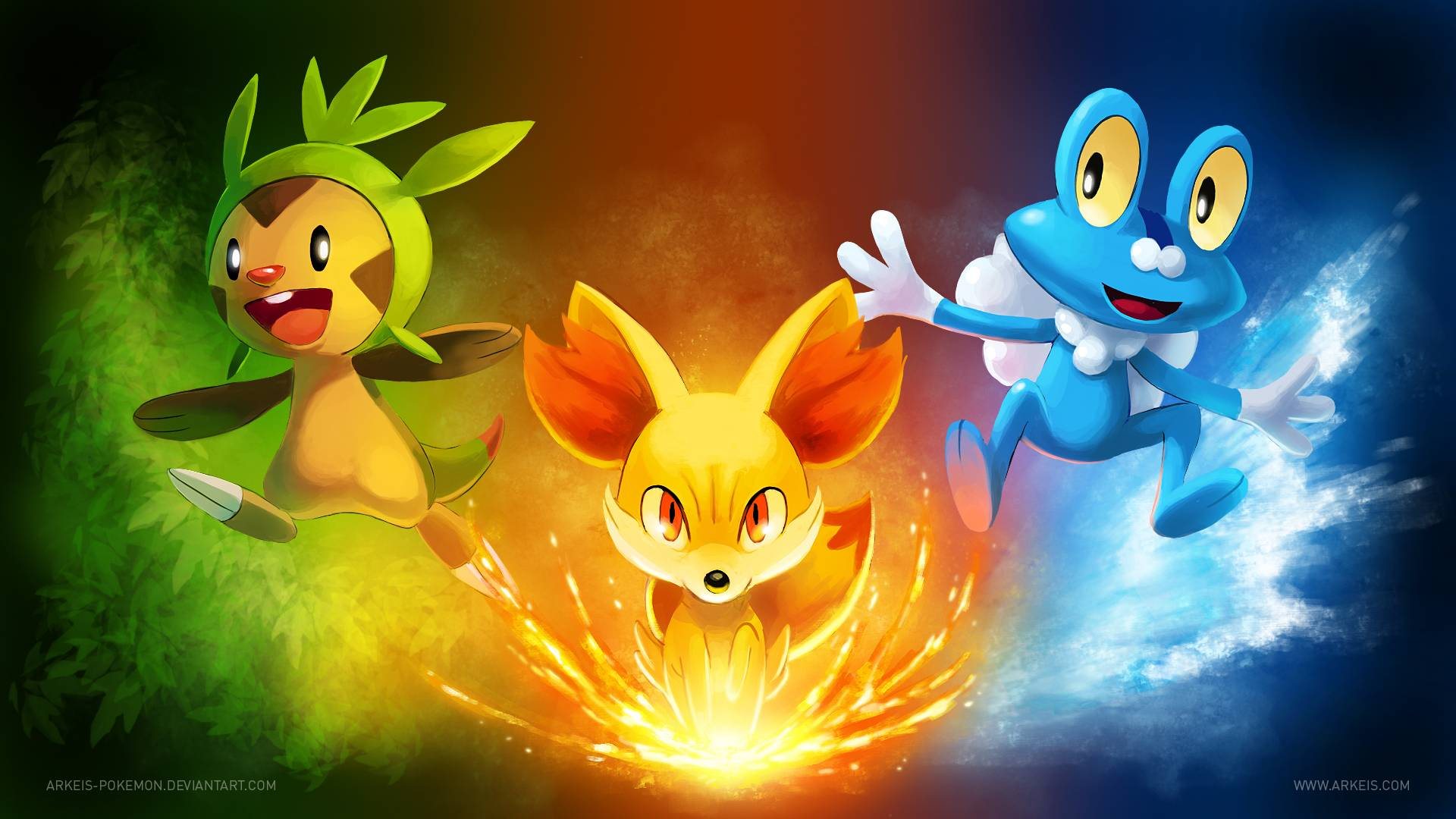 pokemon x and y hd wallpaper