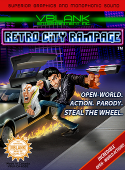 Retro City Rampage Box Art