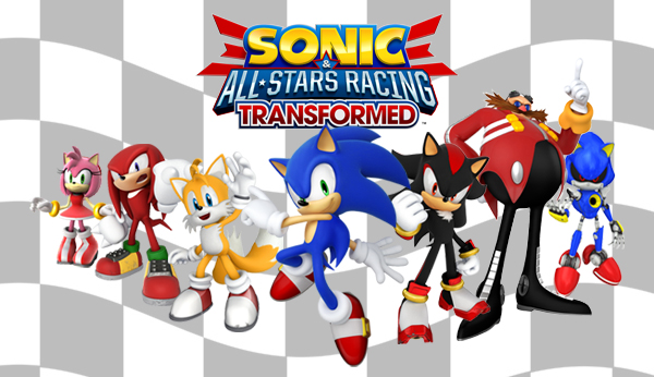 sonic & all stars racing transformed characters