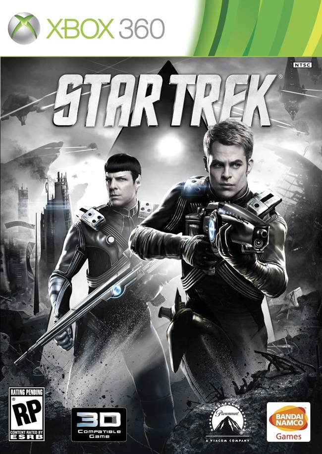 Star Trek (2013 video game) Box Art