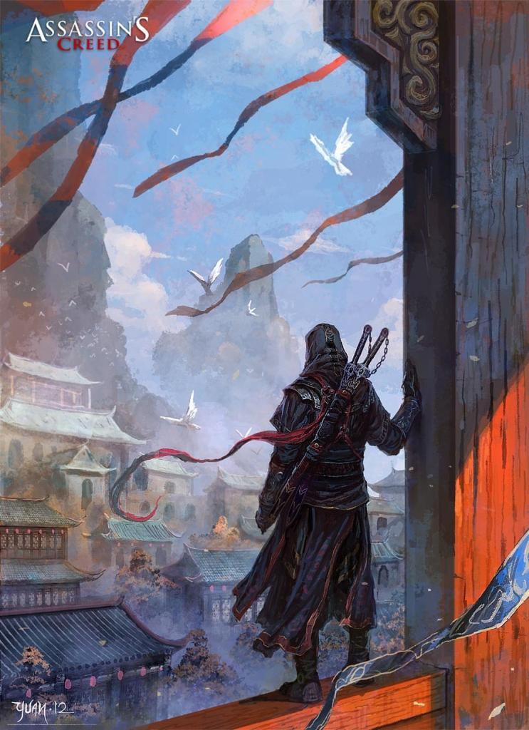 uBh9C Assassin's Creed 4 را با تصاویر هنری جدید در چین ببینید