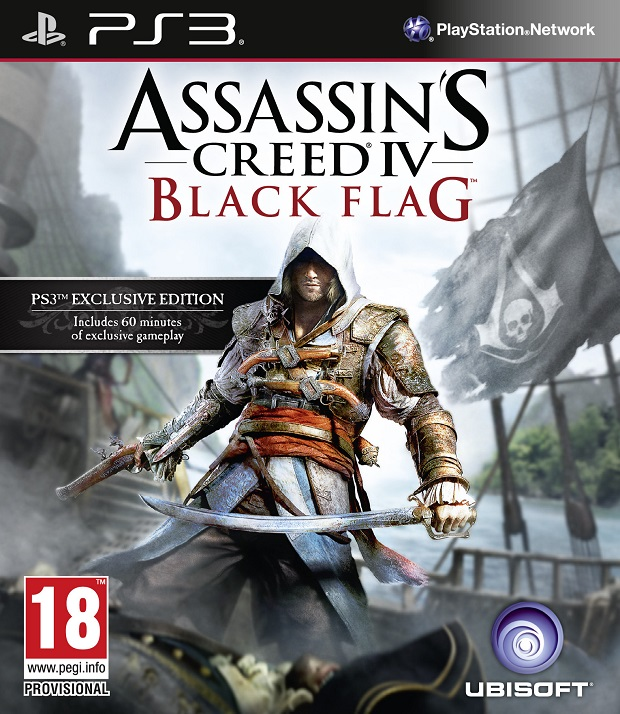 Assassin's Creed 4 Black Flag Box Art