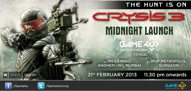 Crysis 3 midnight launch
