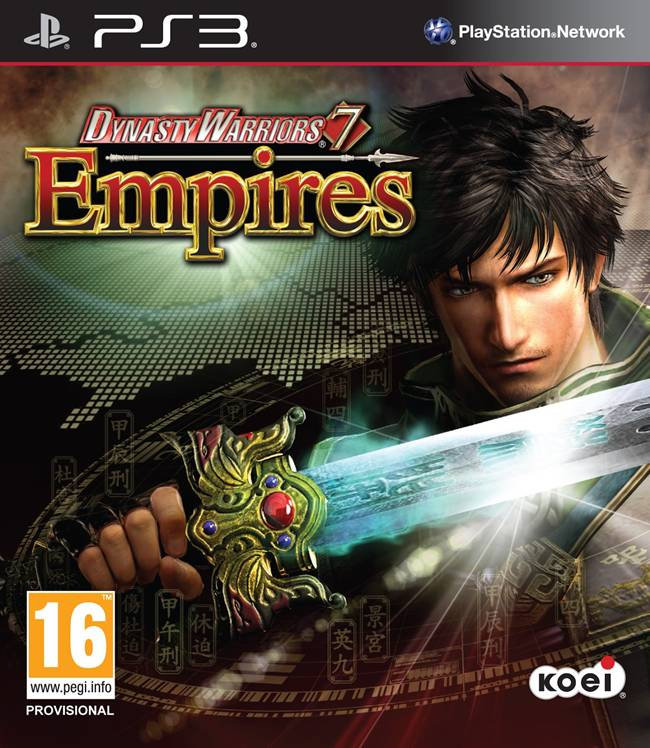 Dynasty Warriors 7 Empires Box Art