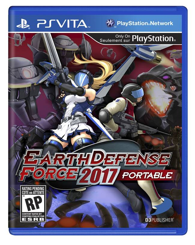 Earth Defense Force 2017 Box Art