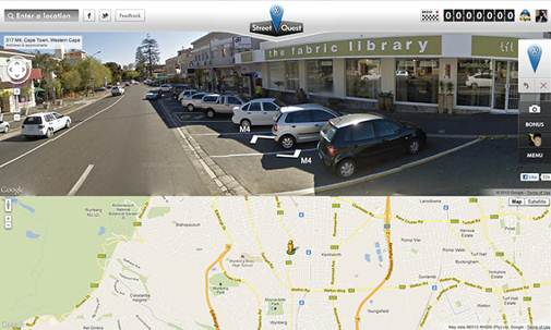 Google Street View For Wii U