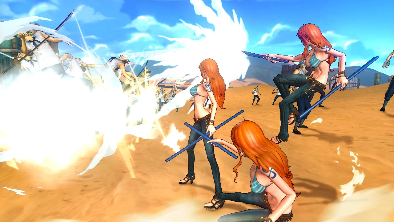 one piece pirate warriors 2 for pc game apa aja ada. Black Bedroom Furniture Sets. Home Design Ideas